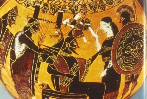 Birth of Athena, Full-Armed, from Zeus' Head (Ouch!)