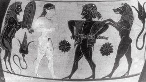Odysseus Prepares to Expose his 'Sword'