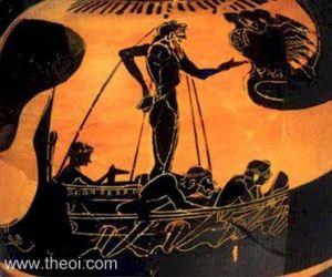 Odysseus Declaims to Sirens?