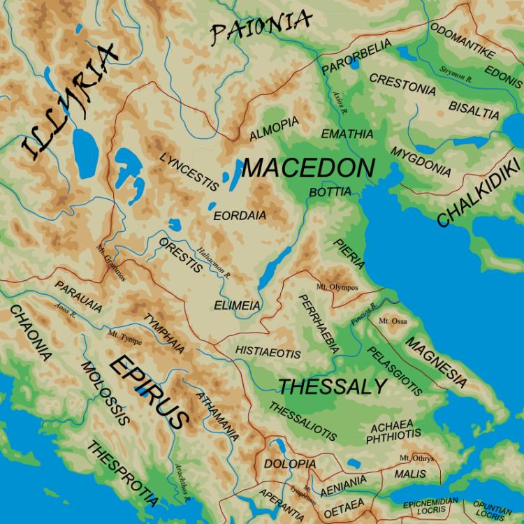 Epiros, Thesprotia, and Aetolia: Locations for Odysseus' Princesses