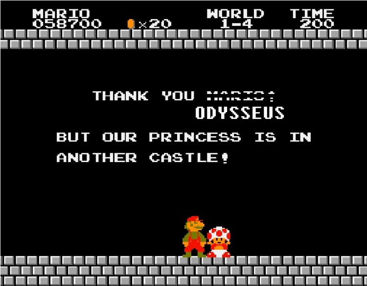 Is this why Odysseus met so many princesses?