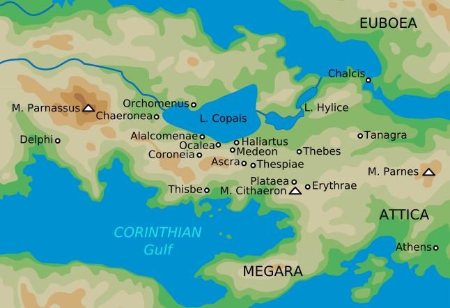 Map Orchomenos