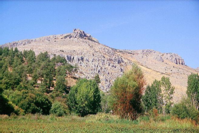 The citadel of Orchomenos