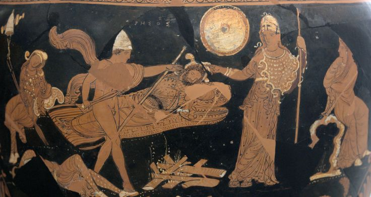 Odysseus and Diomedes