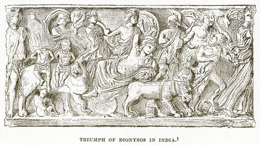 the indian triumph of dionysus essay The music also of the challengers breathed from time to time wild bursts expressive of triumph or defiance, while the clowns grudged a holiday which seemed to pass away in inactivity and old knights and nobles lamented in whispers the decay of martial spirit, spoke of the triumphs of their younger days, but agreed that the land did not now .