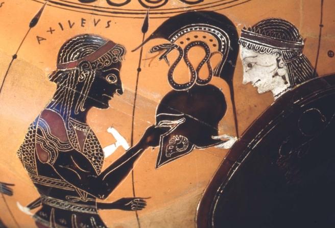 Image result for ancient greek achilles