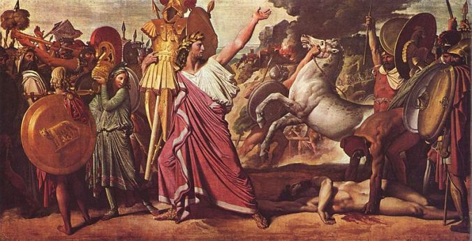 Image result for Death of Romulus