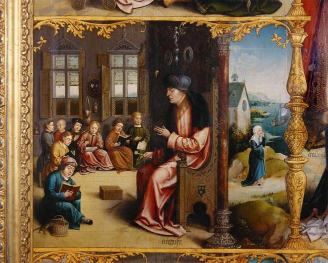 St Augustine Teaching Rhetoric (1)
