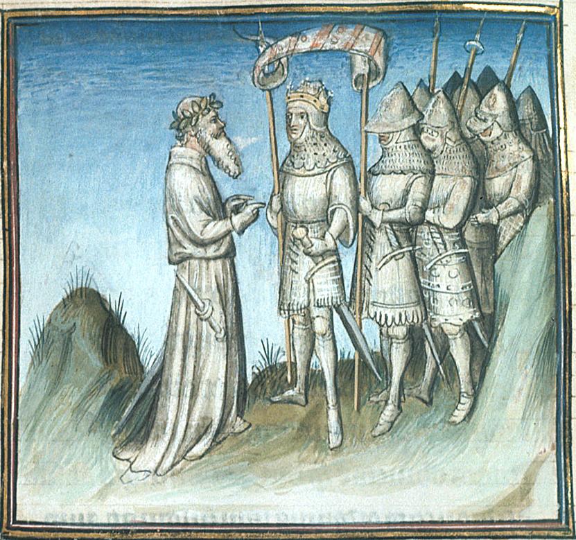 Image result for medieval manuscript old man