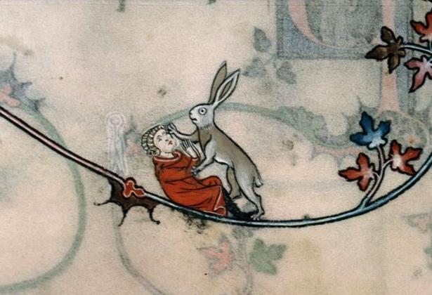 Image result for medieval manuscript bad friend