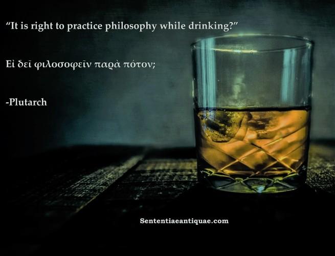 Drinking Philosophy