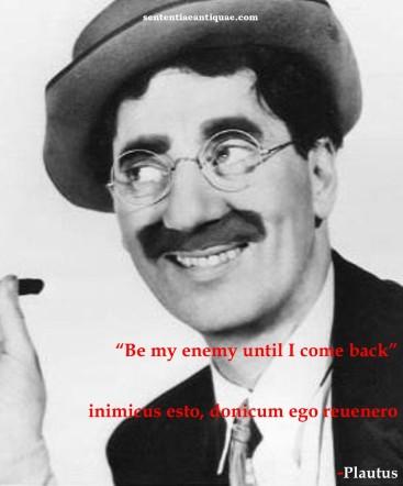 Groucho Plautus