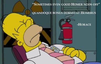 Homer Horace