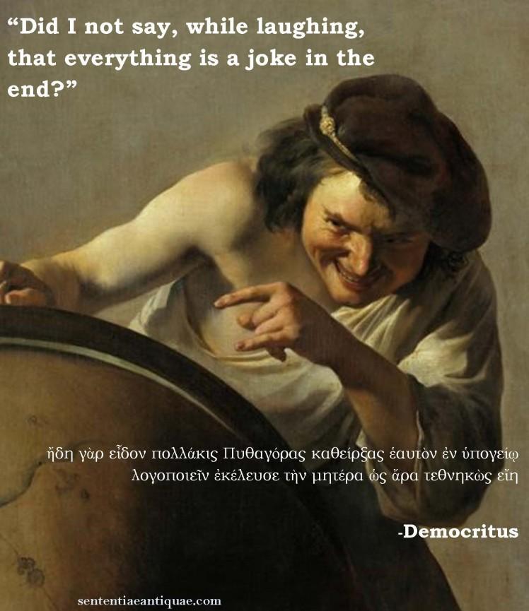 Democritus Meme