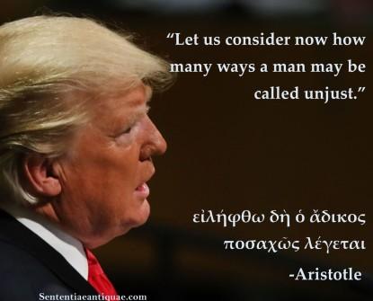Unjust trump