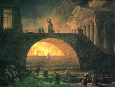 Historical Wallpapers: Great Fire of Rome (Magnum ...