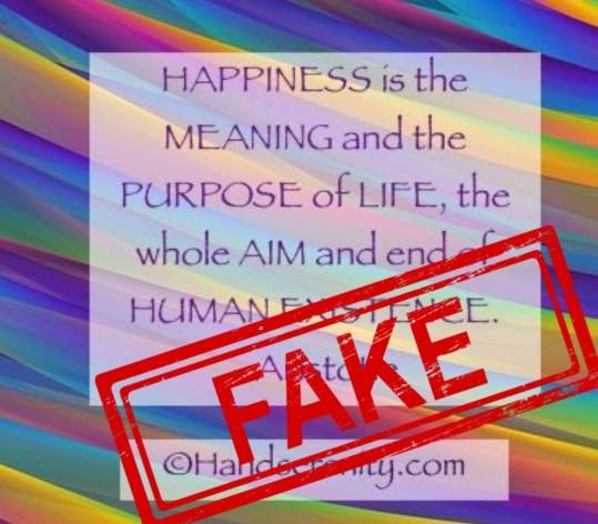 Fake Quotations – SENTENTIAE ANTIQUAE