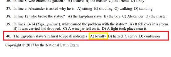 loyal slave