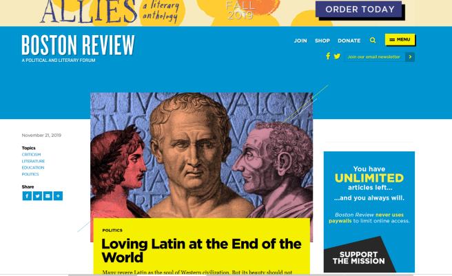 Loving latin